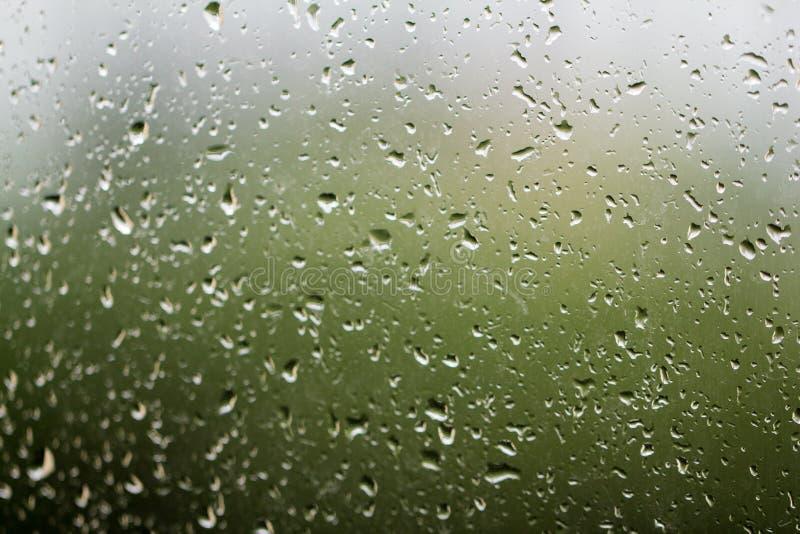 Βροχή παραθύρων στοκ εικόνες με δικαίωμα ελεύθερης χρήσης