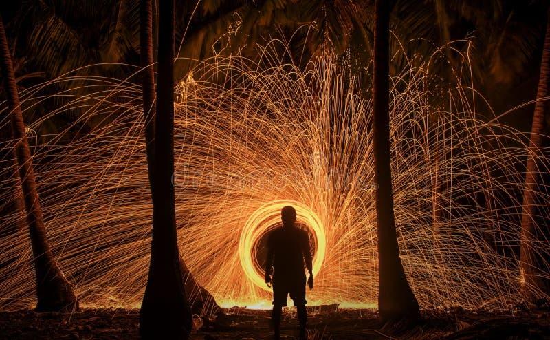 Βροχή πυρκαγιάς στοκ εικόνες με δικαίωμα ελεύθερης χρήσης
