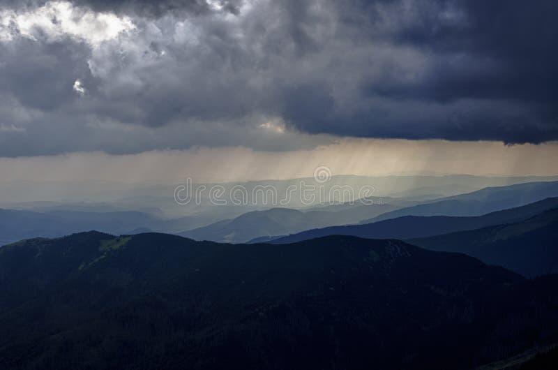Βροχή του φωτός στοκ φωτογραφίες