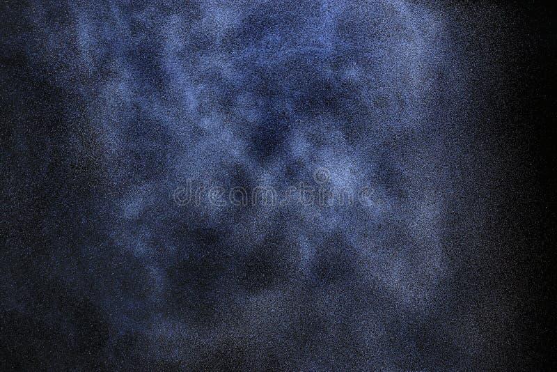 Βροχή χιονιού στο Μαύρο ελεύθερη απεικόνιση δικαιώματος