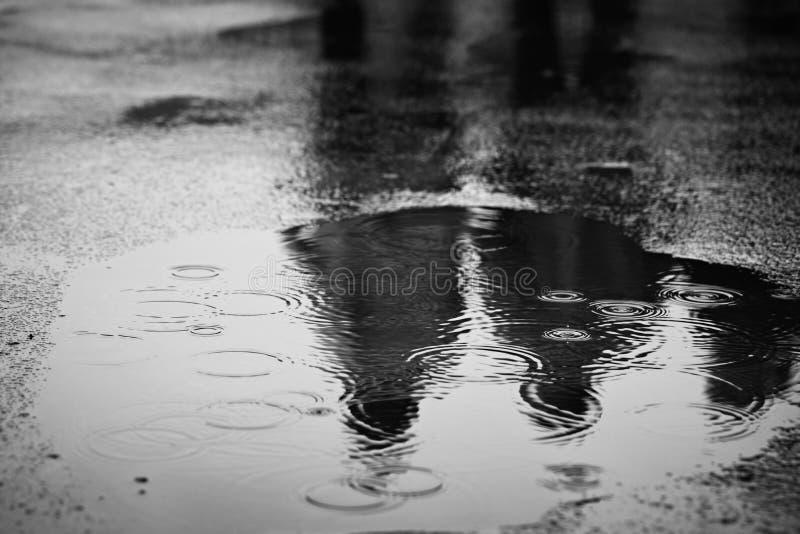 Βροχή στοκ εικόνα με δικαίωμα ελεύθερης χρήσης