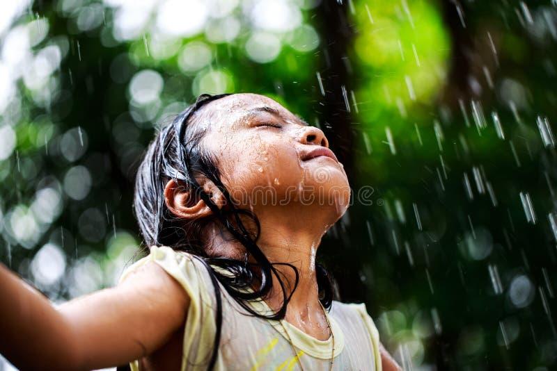 Βροχή Sumer στοκ εικόνες