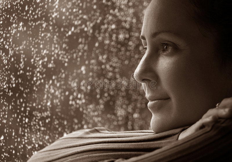 βροχερές σκέψεις ημέρας στοκ φωτογραφίες με δικαίωμα ελεύθερης χρήσης