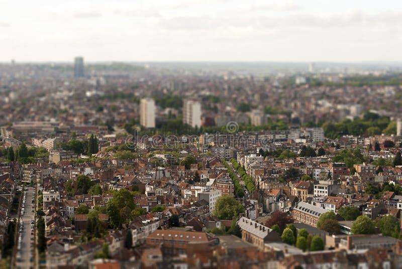Βρυξέλλες στην κλίση-μετατόπιση στοκ φωτογραφία