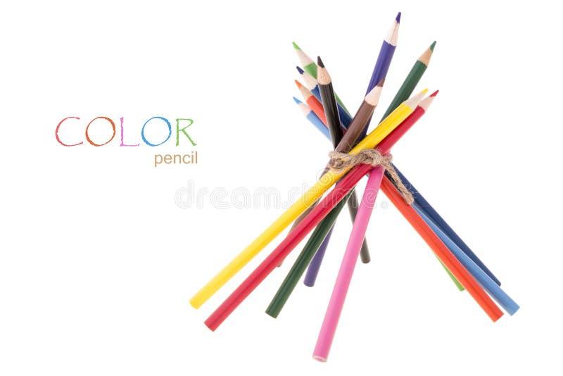 Βρωμίστε το δεσμευτικό μολύβι στοκ εικόνες
