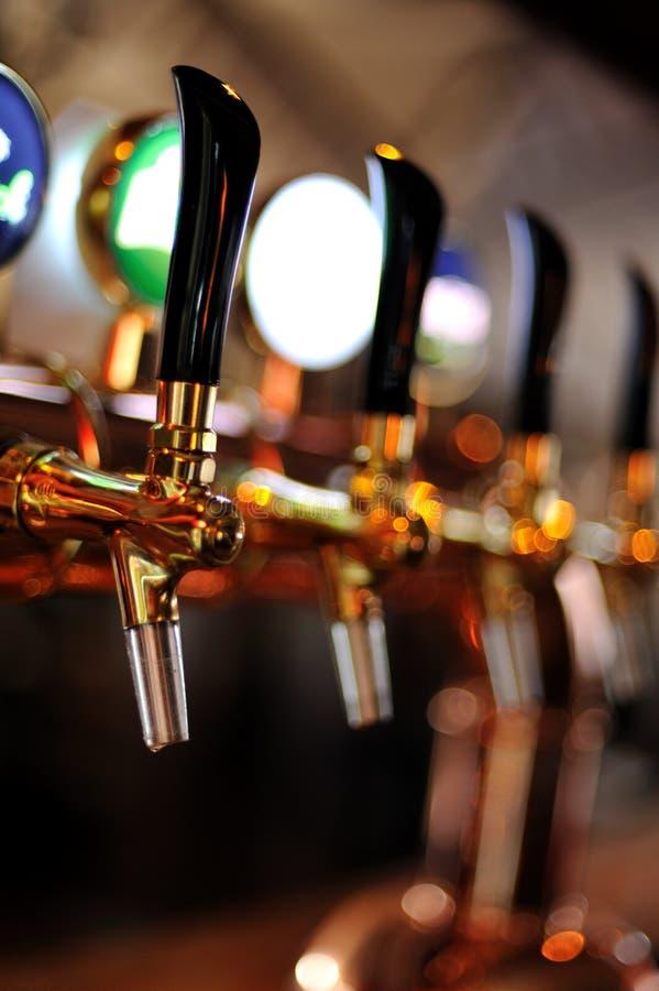βρύση μπύρας στοκ εικόνα