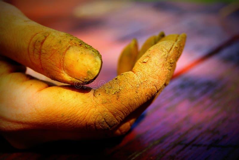 Βρώμικα δάχτυλα στοκ φωτογραφίες με δικαίωμα ελεύθερης χρήσης