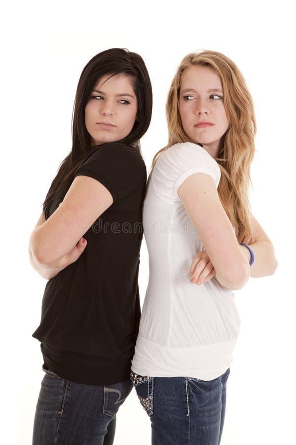 βρώμικα βλέμματα teens στοκ εικόνα με δικαίωμα ελεύθερης χρήσης