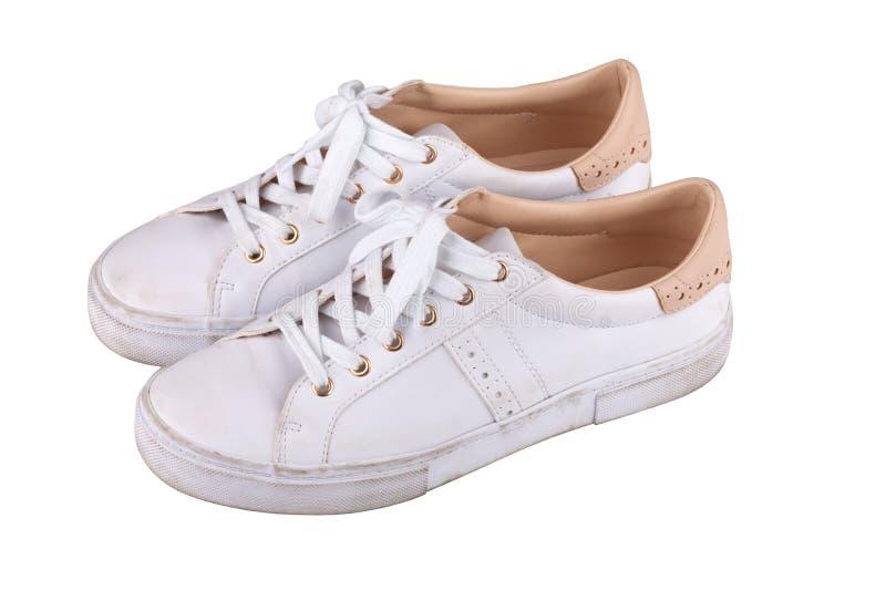 βρώμικα πάνινα παπούτσια στοκ εικόνες