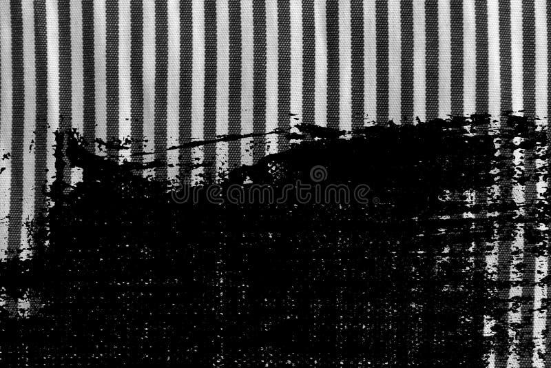 Βρώμικη γραπτή κινηματογράφηση σε πρώτο πλάνο Grunge της γδυμένης σύστασης υφάσματος στοκ εικόνες