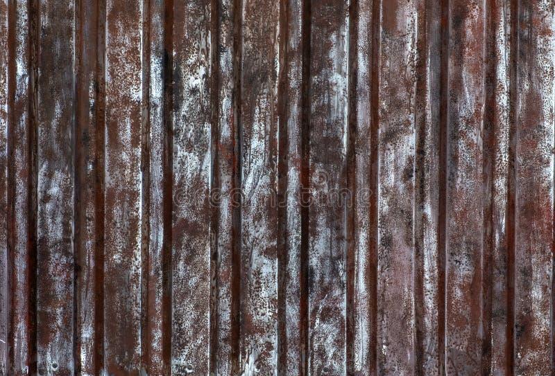 Βρώμικη σκουριασμένη σύσταση μετάλλων στοκ φωτογραφία με δικαίωμα ελεύθερης χρήσης