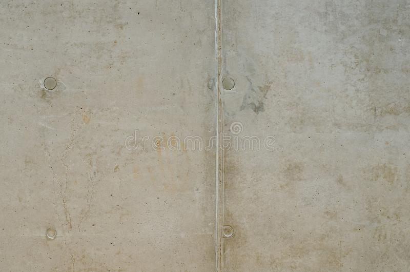 Βρώμικη σύσταση του παλαιού γκρίζου συμπαγούς τοίχου με τέσσερις κύκλους και λ στοκ φωτογραφίες με δικαίωμα ελεύθερης χρήσης