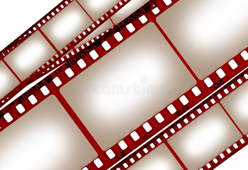 βρώμικη ταινία παλαιά διανυσματική απεικόνιση