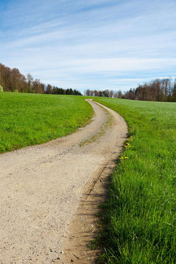 Βρώμικος δρόμος Στοκ Φωτογραφία