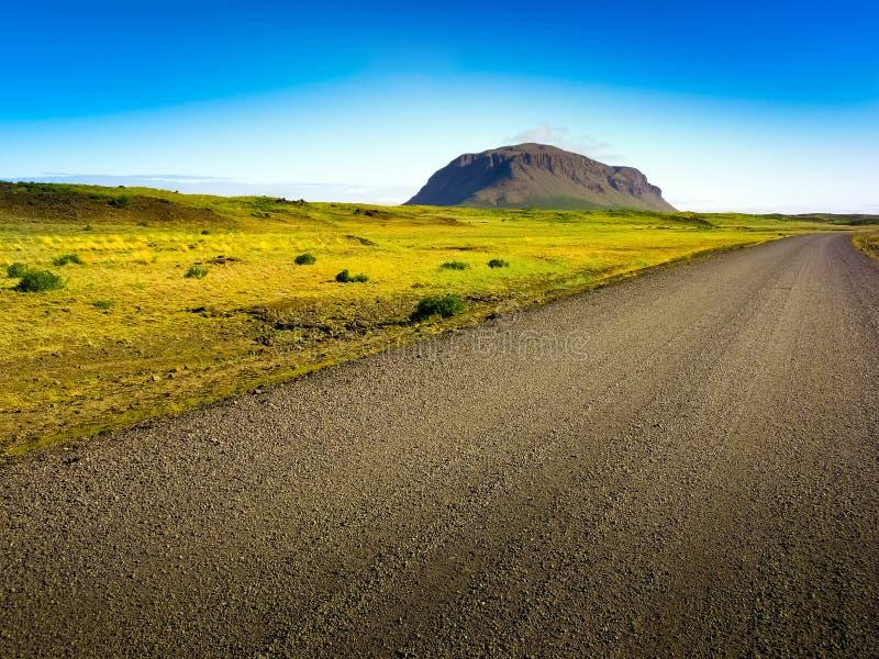 βρώμικος μακρύς δρόμος στοκ εικόνα