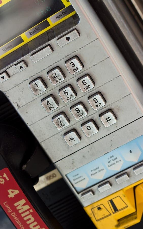 Βρώμικος πληρώστε το τηλέφωνο στοκ εικόνες με δικαίωμα ελεύθερης χρήσης