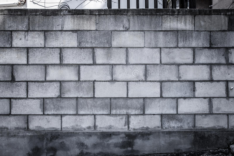 Βρώμικος φραγμός της Cinder στοκ φωτογραφίες με δικαίωμα ελεύθερης χρήσης