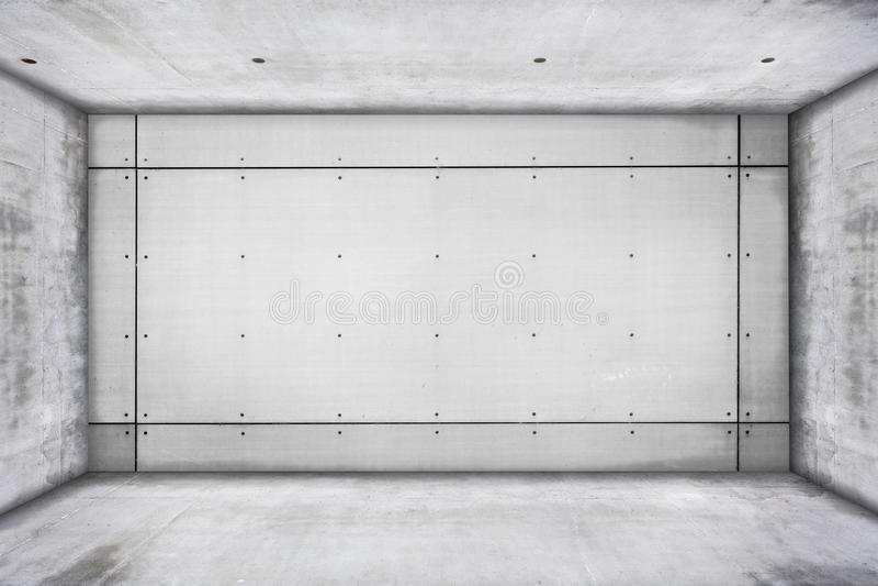 Βρώμικο συγκεκριμένο δωμάτιο στοκ φωτογραφία με δικαίωμα ελεύθερης χρήσης