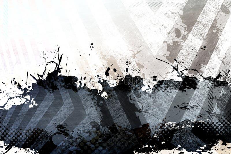 βρώμικο σχεδιάγραμμα splatter απεικόνιση αποθεμάτων