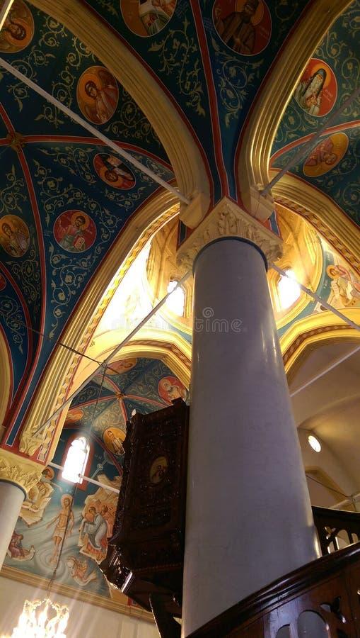 Βυζαντινή αρχιτεκτονική στοκ φωτογραφία