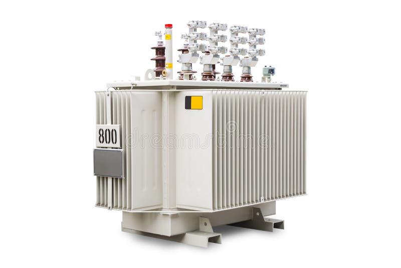 βυθισμένος πετρέλαιο μετασχηματιστής 800 kVA στοκ εικόνες με δικαίωμα ελεύθερης χρήσης