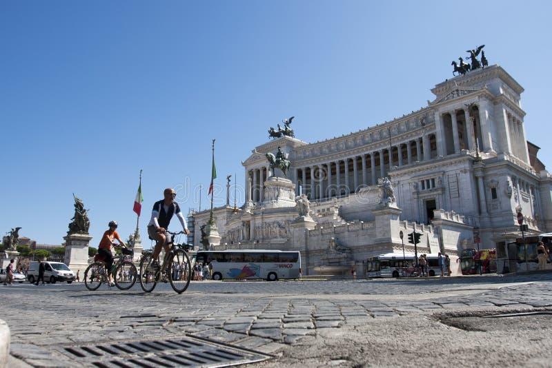 Βωμός της πατρικής γης (πλατεία Venezia - Ρώμη) στοκ εικόνα