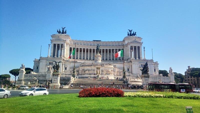 Βωμός της πατρικής γης Ρώμη, Ιταλία στοκ φωτογραφίες με δικαίωμα ελεύθερης χρήσης