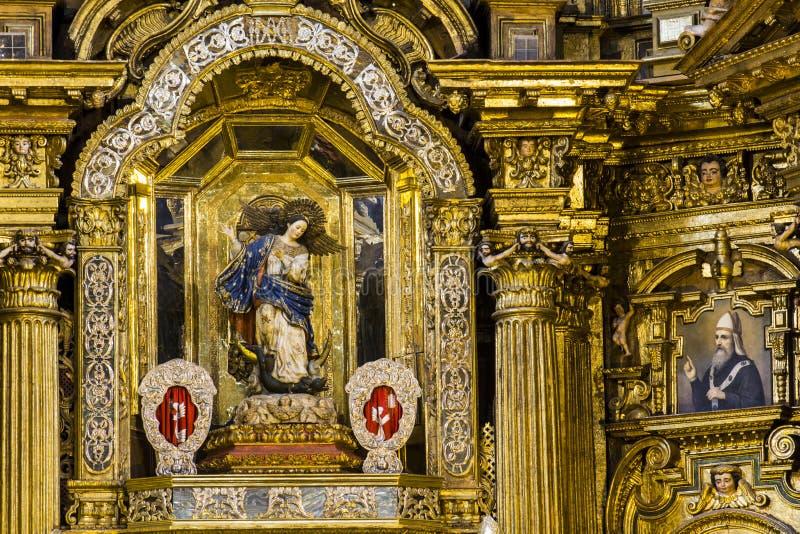 Download βωμός χρυσός στοκ εικόνα. εικόνα από ceiling, arroyos - 62703037