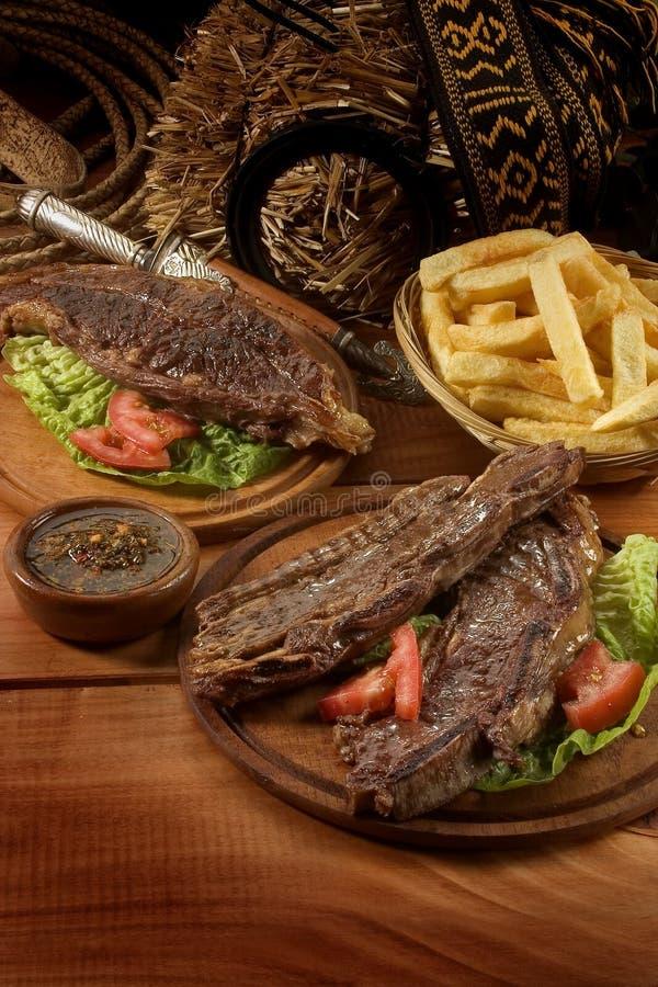 βόειο κρέας της Αργεντινής στοκ φωτογραφίες