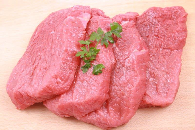 βόειο κρέας φρέσκο στοκ φωτογραφία