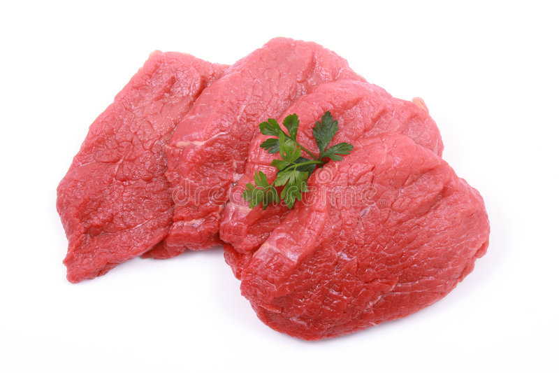 βόειο κρέας φρέσκο στοκ εικόνες