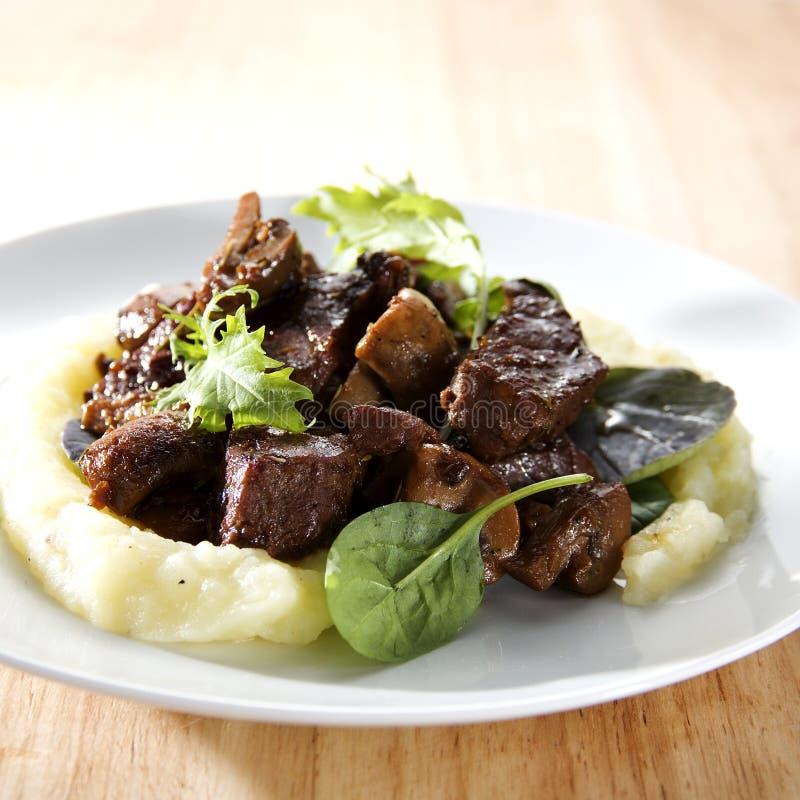 βόειο κρέας bourguignon στοκ φωτογραφία με δικαίωμα ελεύθερης χρήσης