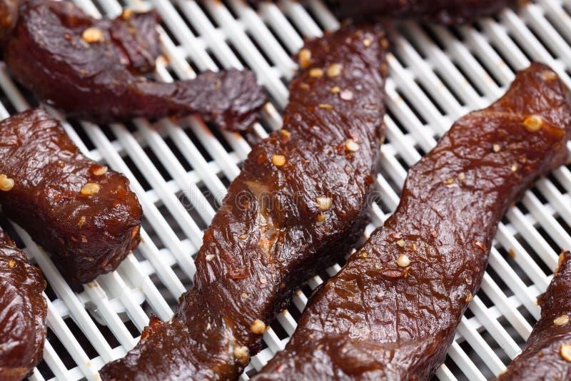 βόειο κρέας jerky στοκ εικόνα με δικαίωμα ελεύθερης χρήσης