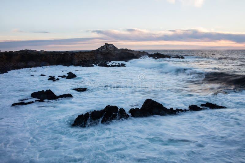 Βόρεια ακτή Καλιφόρνιας στοκ εικόνες