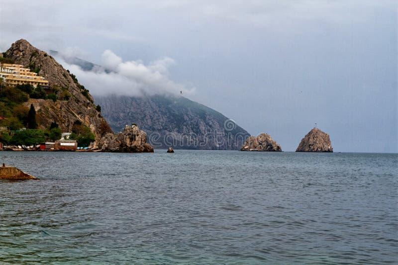 Βόρεια ακτή της Μαύρης Θάλασσας στοκ φωτογραφίες