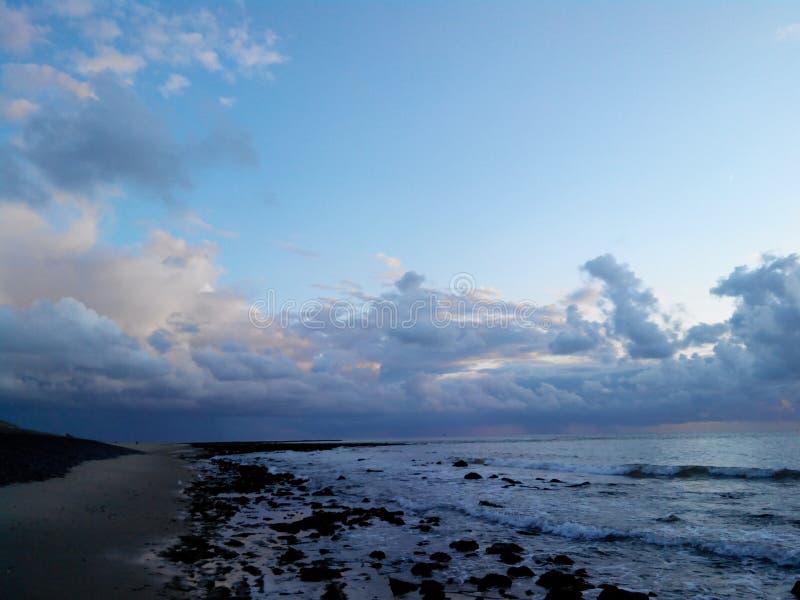 Βόρεια θάλασσα, Κάτω Χώρες, Den Helder στοκ φωτογραφίες με δικαίωμα ελεύθερης χρήσης