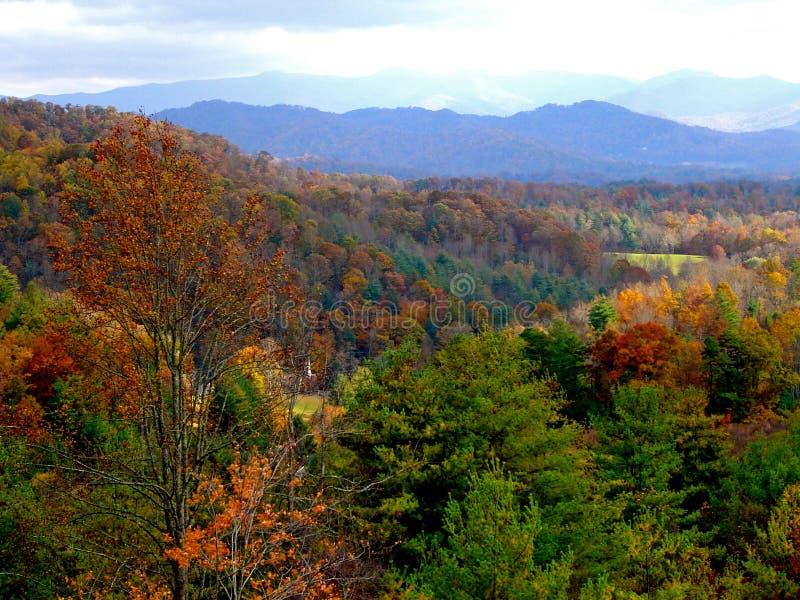 Βόρεια Καρολίνα το φθινόπωρο στοκ εικόνες