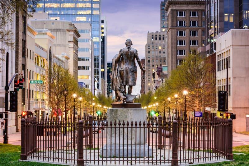 Βόρεια Καρολίνα Raleigh στοκ φωτογραφία με δικαίωμα ελεύθερης χρήσης