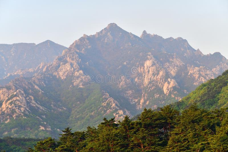 Βόρεια κορεατική φύση στοκ φωτογραφία