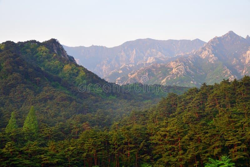 Βόρεια κορεατική φύση στοκ εικόνες