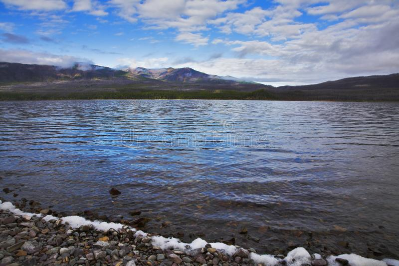 Βόρεια λίμνη στοκ φωτογραφίες με δικαίωμα ελεύθερης χρήσης