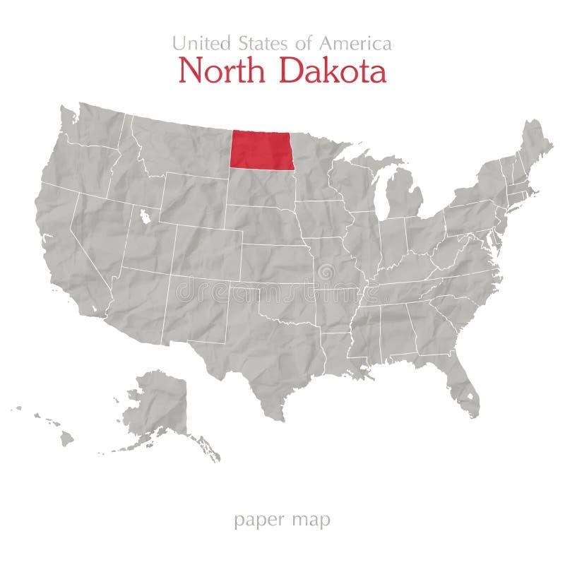 Βόρεια Ντακότα ελεύθερη απεικόνιση δικαιώματος