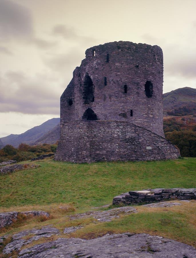 βόρεια Ουαλία llanberis κάστρων dolbadarn στοκ φωτογραφία με δικαίωμα ελεύθερης χρήσης