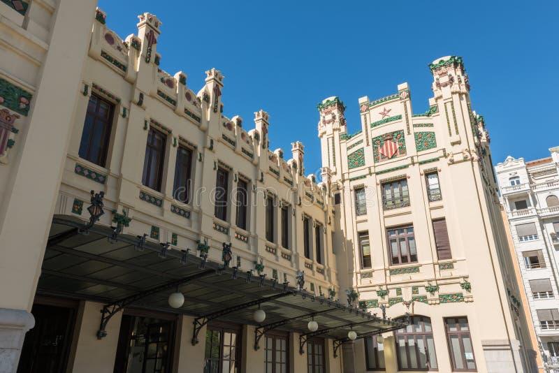 Βόρειος σταθμός Βαλένθια, Ισπανία στοκ φωτογραφία με δικαίωμα ελεύθερης χρήσης