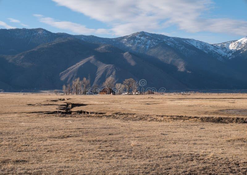 Βόρειο αγρόκτημα της Νεβάδας στοκ εικόνα με δικαίωμα ελεύθερης χρήσης