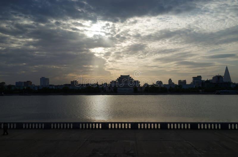 βόρειο Pyongyang της Κορέας στοκ φωτογραφία με δικαίωμα ελεύθερης χρήσης