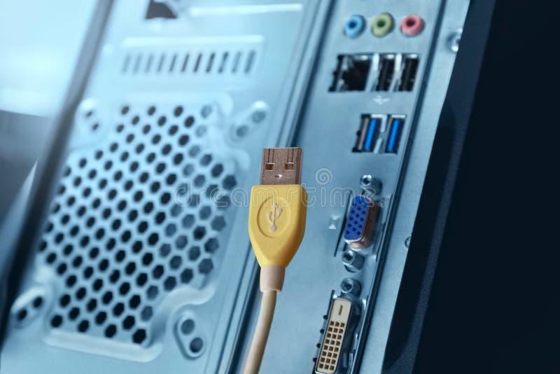 βύσμα USB στοκ φωτογραφία με δικαίωμα ελεύθερης χρήσης
