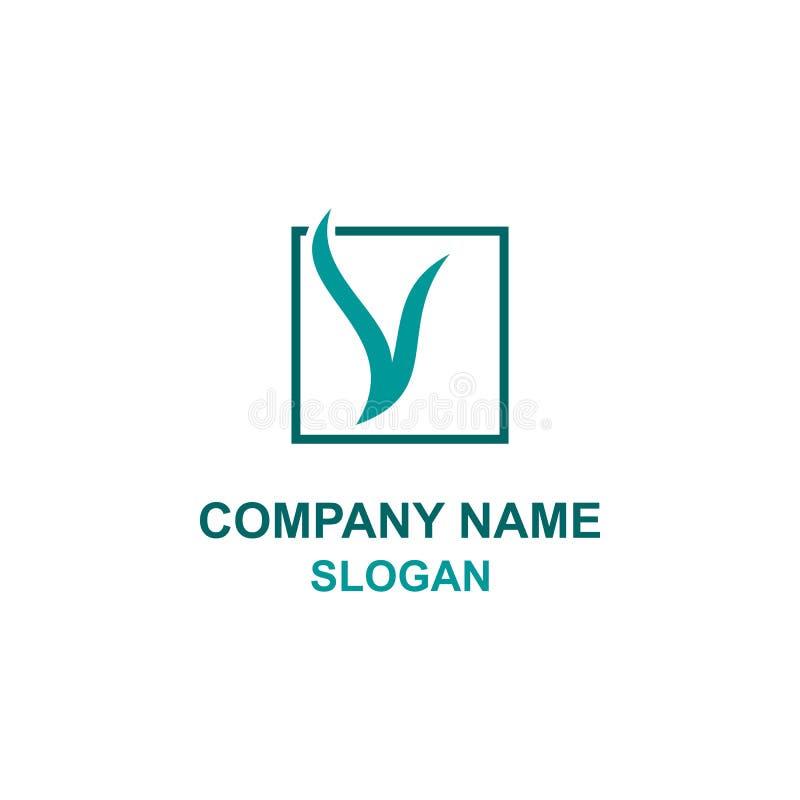 Β αρχικό τετραγωνικό λογότυπο επιστολών ελεύθερη απεικόνιση δικαιώματος