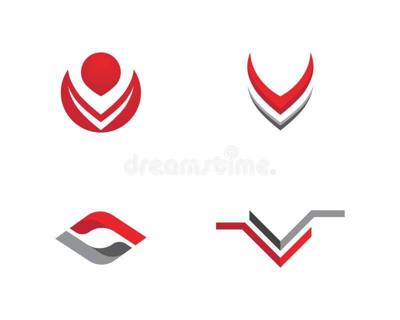 Β επιχείρηση λογότυπων επιστολών διανυσματική απεικόνιση