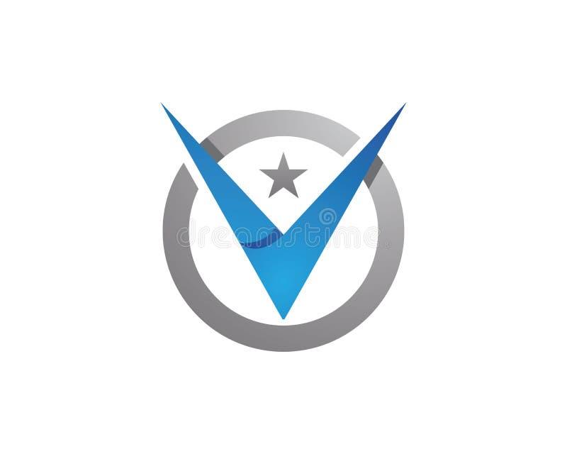 Β πρότυπο λογότυπων επιστολών διανυσματική απεικόνιση